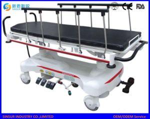 Krankenhaus-Geräten-Krankenwagen kaufen elektrische hydraulische Multifunktionstransport-Bahre