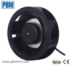 175мм DC Бесщеточный электродвигатель вентилятора назад изогнутые Центробежный вентилятор