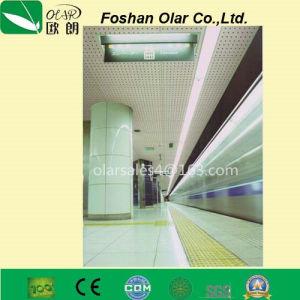 Fibre de ciment Sound-Absorbing intérieur Conseil/ panneau de plafond décoratif