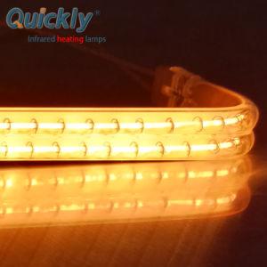 IR a lâmpada de aquecimento de halogéneo e tungsténio de quartzo