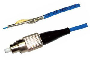 3.0mm Sc/FC/St/LC Sm Armored Fiber Optic Patchcord