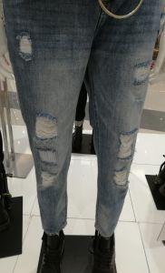 熱い販売法1はジーンズの粉砕機を配置する