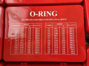 O-ring uitrusting-5A (30SIZES. TOTAAL 382 PCS)