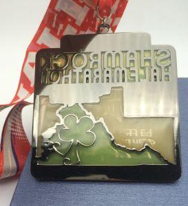 Medaglia placcata oro su ordinazione promozionale dell'oggetto d'antiquariato del metallo per gli eventi della molla di Salt Lake City