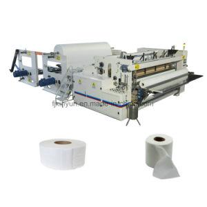 Rebobinando Jrt automática do rolo Maxi Máquina de Papel higiénico