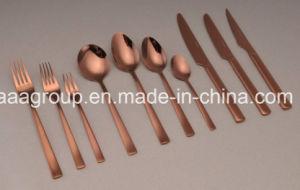 Venta caliente 18/8 de alta calidad juego de cubiertos de acero inoxidable