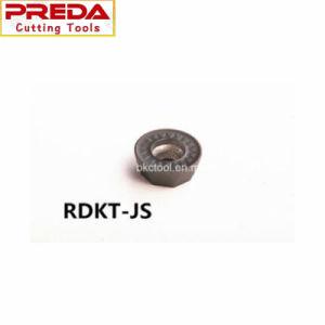 Inserts de mouture Rpmt-Js de tungstène pour le découpage des métaux