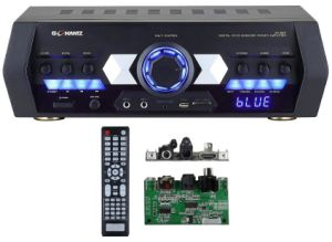 Home Theater / Car Hi-Fi inalámbrica Bluetooth amplificador bafle activo