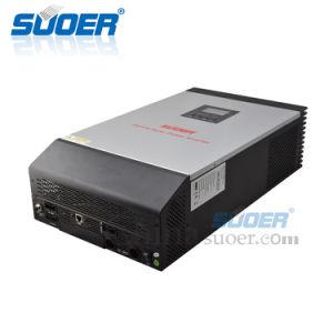 Suoer gelijkstroom 48V aan AC 230V 4kw Omschakelaar van de ZonneMacht van Invertors 5kVA 60A MPPT van de Hoge Frequentie de Hybride