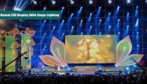 P10 Affichage LED de plein air pour le spectacle de scène