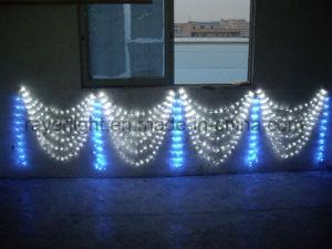 2D Motiv-Beleuchtung LED Carraige beleuchtet Hochzeits-Dekoration-Ideen
