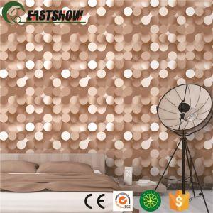 3D-ПВХ современные обои на стене дома оформлены бумаги