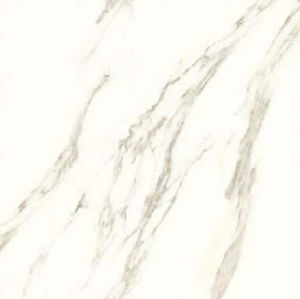 床および壁のための純粋で白い磁器及び陶磁器の艶をかけられた無作法なタイル