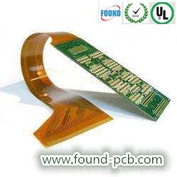 多層堅い屈曲のプリント基板PCBAデザイン