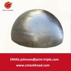 07-08 parede espessa Hemisfério chefe de aço inoxidável para ID do tanque selado1800mm*40mm