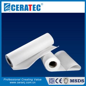 Refractarias resistentes al fuego material de sellado de papel de fibra cerámica