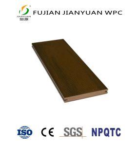 ASA-PVCは屋外のDeckingのフロアーリング木製のプラスチック合成物WPCの庭のCo突き出た
