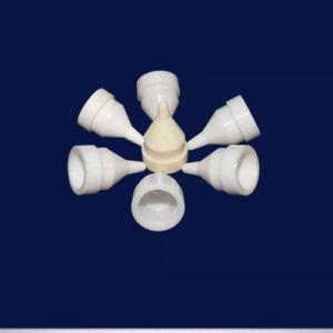 よい絶縁体パフォーマンス耐熱性ジルコニアの陶磁器のノズルの指定