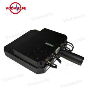 Uav Stoorzender/Blocker, die voor Al Mobiele Straal 20100m van de Dekking van de Telefoon 3G/2g (GSM/CDMA/DCS) blokkeren /4glte/Wi-Fi2.4G