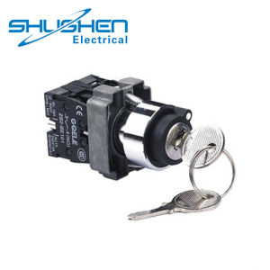 40mmのキーの普通閉じられた電気回路のきのこヘッド押しボタンスイッチ