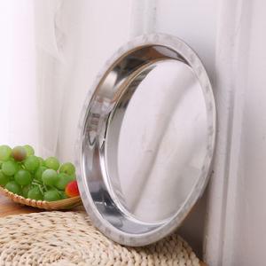 Yiwu Hotsale plaque en acier inoxydable/plaque de riz