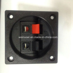 Schakelaar van wp2-7 de 2pin Vierkante Reeksen van de Duw EindWp van de Spreker voor Audio