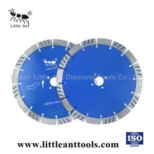 9  Blad van de Zaag van de Arduinsteen van de Hulpmiddelen van het Blad van de Zaag van de Diamant van het Hulpmiddel van de Diamant /230mm het Scherpe Diamant Gesinterde