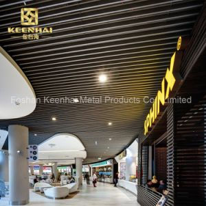 Acoustique plafond suspendu décoratifs d'aluminium métallique (KH-MC-U10)