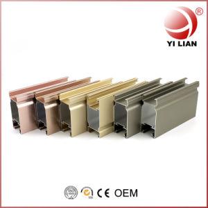 Ventana de aluminio Perfil de extrusión de perfiles de aluminio de China, fabricante