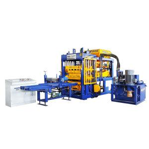 Nuevo tipo Qt6-15 concreto automática Máquina máquina de ladrillos bloques de cemento con buen precio.
