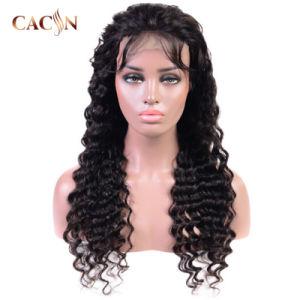 100 % perruque de cheveux humains Lace Front Cheveux humains Virgin droites