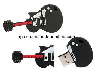 低音の形ゴム製USBのフラッシュ駆動機構(HG-016)