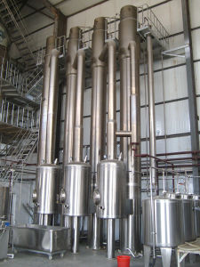 Multi-Effect Evaporator van de Dalende Film voor het Chloride van het Barium