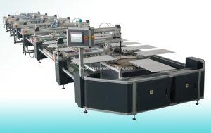 기계를 인쇄하는 타원형 자동적인 의복 스크린