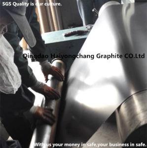 Металлическая вставка усиленная гибкая природные графит лист Китая на заводе