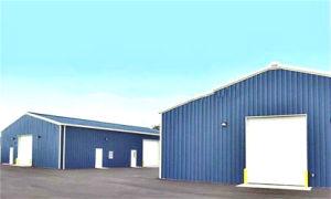 문맥 프레임에 의하여 날조되는 강철 건축 창고 (KXD-SSW124)