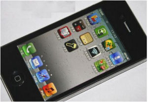 Teléfono móvil original, el teléfono móvil, celular, teléfono 4s
