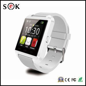 LED écran tactile de 1,44 Bluetooth téléphone mobile Android Ios Watch U8 pour les enfants de don