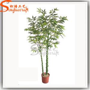 Realista Graden Decoração planta artificial Bamboo
