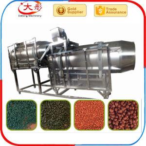 Aço inoxidável de grande capacidade de alimentos para peixes, tornando a máquina