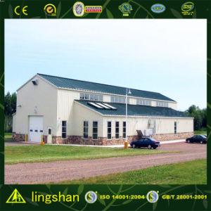 Здания стальной структуры Lingshan с аттестацией SGS (L-S-007)