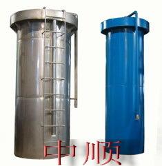 Apparutus las aguas subterráneas para la extracción de hierro y manganeso