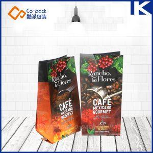 Custom Color impreso cara/refuerzo inferior de la bolsa de plástico envases de alimentos