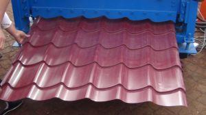 Vitrage professionnel toit de tuile et machine à profiler de panneau mural