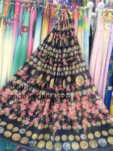 印刷されたPolyester ChiffonかGarmentsのためのCrepe Chiffon Fabric