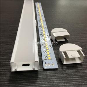 가득 차있는 플라스틱 LED 관이 소형 USB 책에 의하여 점화한다