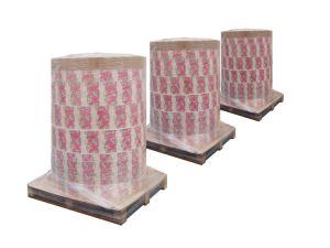 La leche y jugo de los materiales de envasado en rollos