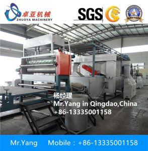 PVCプラスチックコイル・カーのマットの放出の機械装置の製造