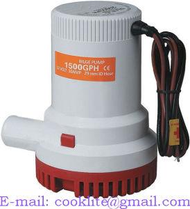Bomba De Agua / Bombas Sumergibles de achique - 1500GPH 12V/24V