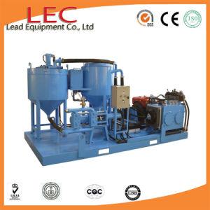 Circuit hydraulique et coulis de ciment de la pompe haute pression